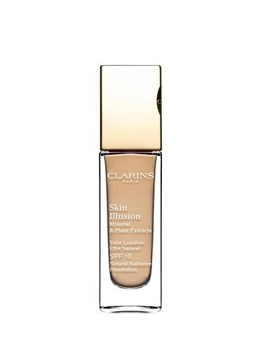 Clarins Clarins Skin Illusion Fondöten SPF10 110 Honey Nemlendiricili Ten